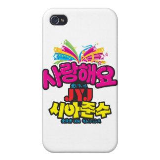 kpop_JYJ_Xia Junsu_love iPhone 4 Cases