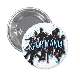 KPOP MANIA Round Button