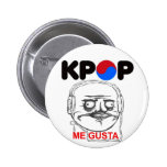 KPop Me gusta Meme, i like Pinback Button