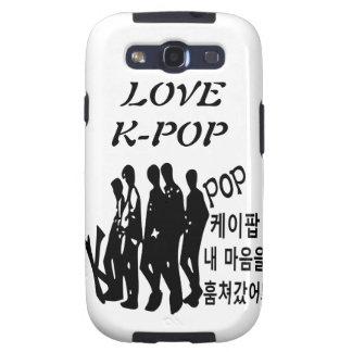 KPOP tomó mi corazón en caso del iphone de Samsung Galaxy SIII Coberturas