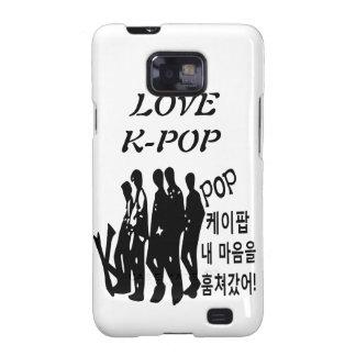 KPOP tomó mi corazón en caso del iphone de Samsung Samsung Galaxy S2 Fundas