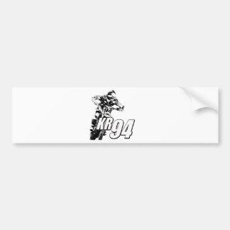 KR94bike2white.png Bumper Sticker