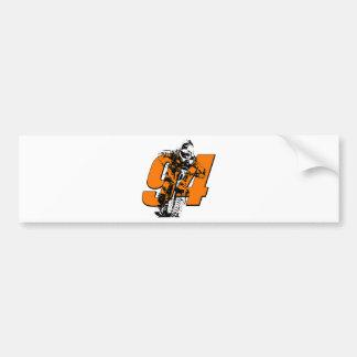 KR94bikeghost.png Bumper Stickers