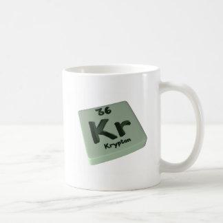 Kr Krypton Mugs
