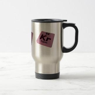 Kr Krypton Coffee Mug