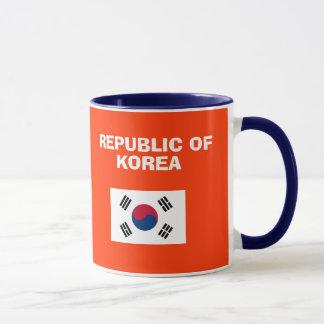 KR South Korea* Country Code Mug