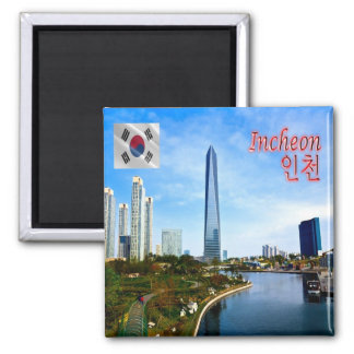 KR - South Korea - Incheon Magnet