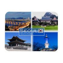 KR  South Korea - Seoul - Magnet