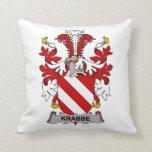 Krabbe Family Crest Pillows