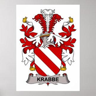 Krabbe Family Crest Posters