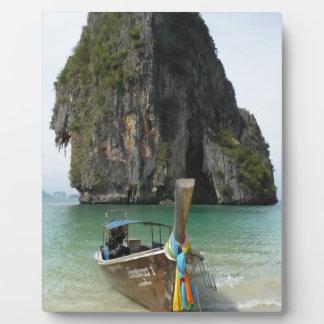 Krabi beach, Thailand 3 Plaque