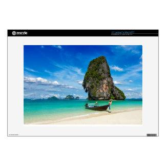 "Krabi island decal for 15"" laptop"