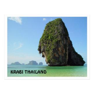 Krabi Thailand Postcard
