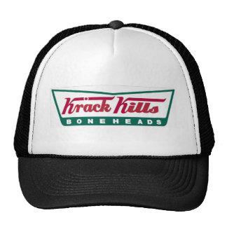 Krack Kills Boneheads! Trucker Hat