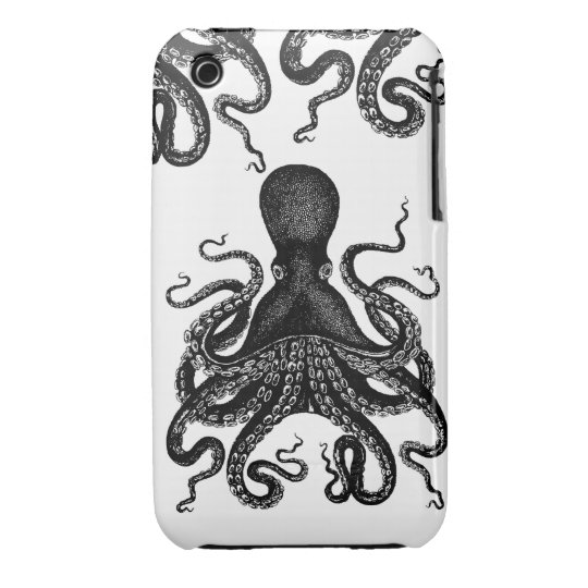 Kracken Octopus Attacking your phone Case-Mate iPhone 3 Case