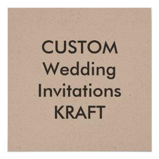 "KRAFT 100lb 5.25"" Square Wedding Invitations"