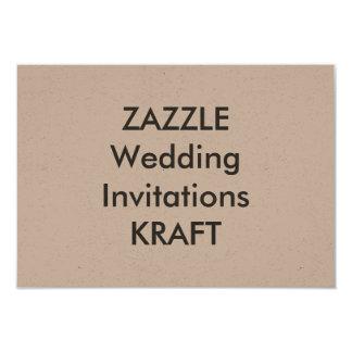 """KRAFT 5"""" x 3,5"""" invitaciones del boda Invitación 3.5"""" X 5"""""""