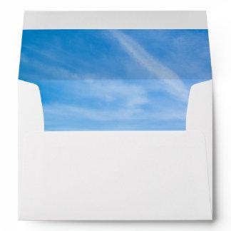 Kraft Brown Speckled A7 Card Envelope - Sky Lined