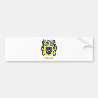 Kraft Coat of Arms (Family Crest) Bumper Stickers