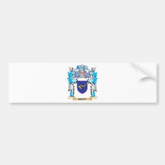 Kraft Coat of Arms - Family Crest Bumper Stickers