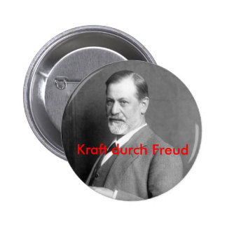Kraft durch Freud Button