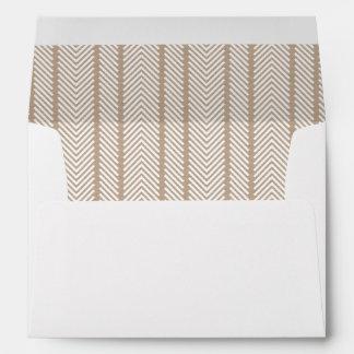 Kraft Lined Envelope with Custom Address