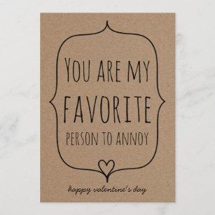Funny Valentine S Day Cards Zazzle