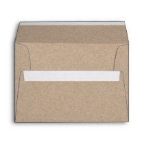 Kraft Paper Look Envelope