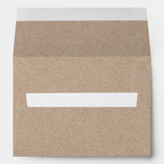 Kraft Paper Look Envelope