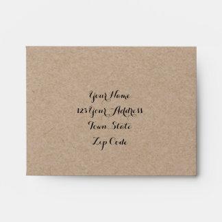 kraft_paper_look_rustic_wedding_rsvp_envelopes rd1fd96a8707a4dbba669b73980a10855_w20xk_8byvr_324 a2 envelopes a2 invitation envelopes zazzle,A2 Invitation Envelopes