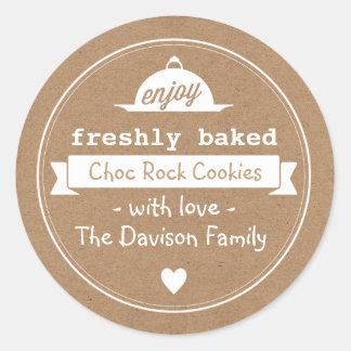 Kraft Vintage Baking Labels