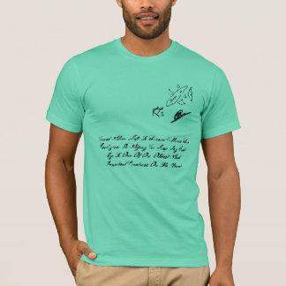 KRAHS DESIGN Men's T-shirt-Finned Alive. T-Shirt