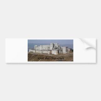 Krak Des Chevaliers, a Crusader Castle Bumper Sticker