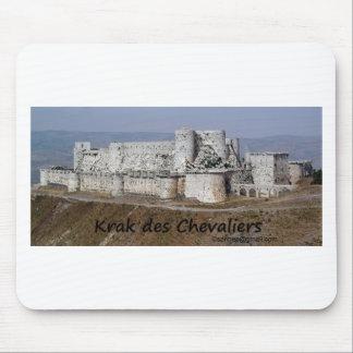 Krak Des Chevaliers, a Crusader Castle Mouse Pad