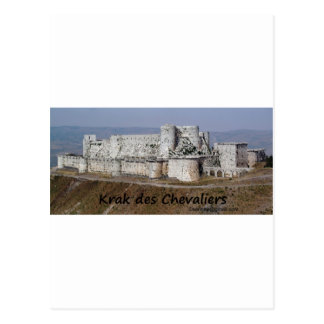 Krak Des Chevaliers, a Crusader Castle Postcard
