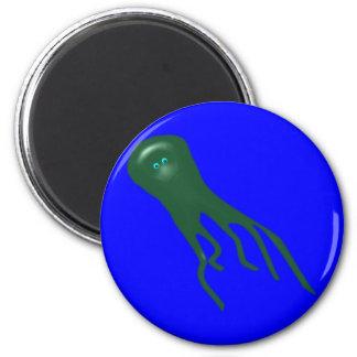 Krake kraken octopus 2 inch round magnet