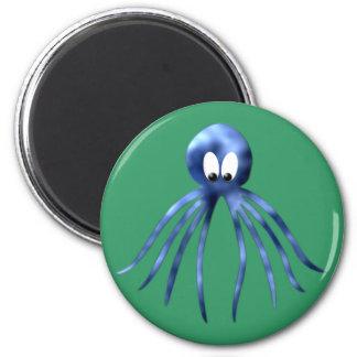 Krake Oktopus octopus 2 Inch Round Magnet