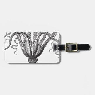 ☞ Krake/The Kraken Vintage Bag Tag