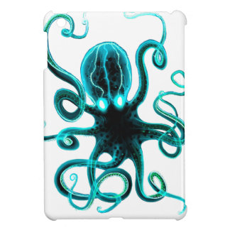 Kraken_Aqua iPad Mini Cover