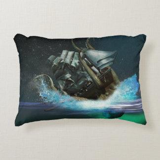 Kraken Attack Accent Pillow