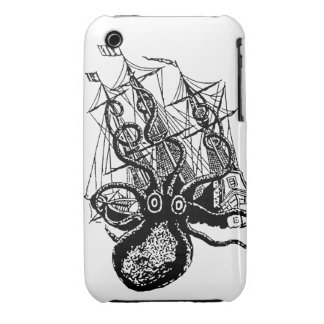 Kraken Attack beware! for the iphone3 Case-Mate iPhone 3 Cases