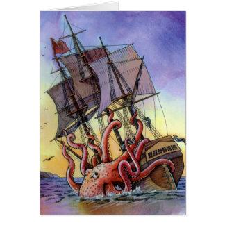 Kraken Attack Card