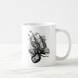 Kraken Attack Classic White Coffee Mug
