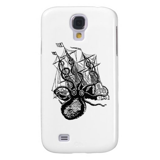Kraken Attack Galaxy S4 Case
