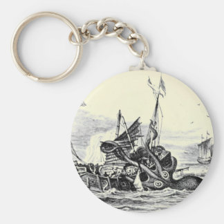 Kraken Attack! Keychain