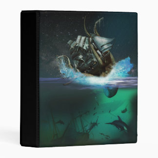 Kraken Attack Mini Binder