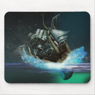 Kraken Attack Mouse Pad