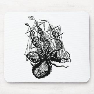 Kraken Attack Mouse Pad