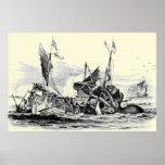 Kraken Attack! Print
