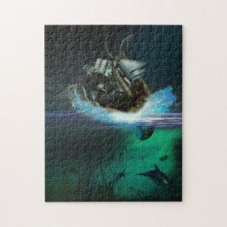 Kraken Attack Puzzle